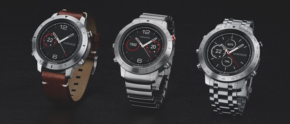 Garmin goes luxury with Fenix Chronos GPS smartwatch