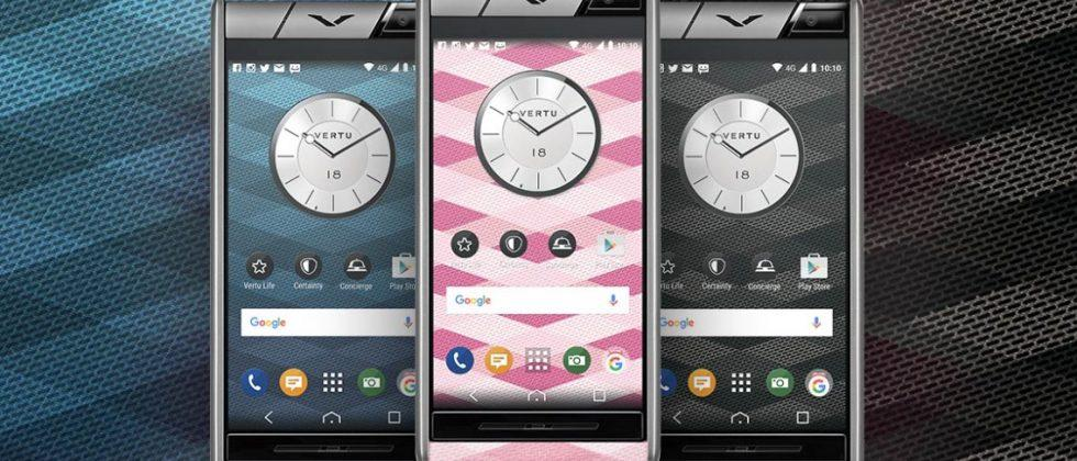 Luxury smartphone maker Vertu debuts three models starting at $4,200