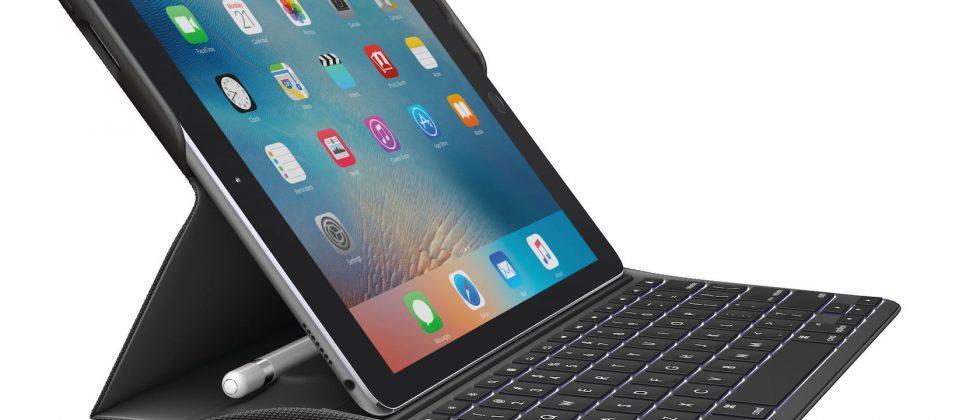 Logi Create for iPad Pro 9.7 is a backlit keyboard case