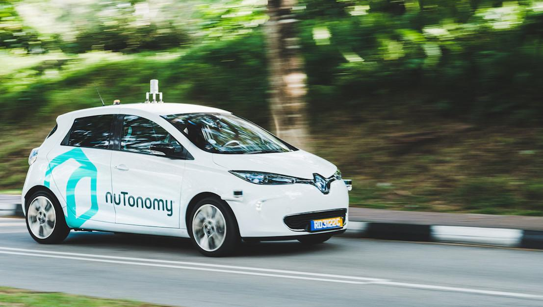 nuTonomy beats Uber with self-driving taxis in Singapore