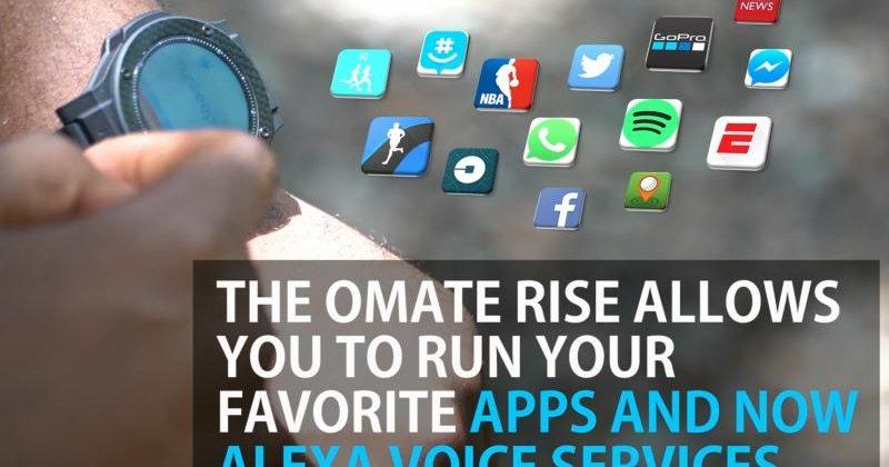 Omate Rise Limited Edition brings Amazon's Alexa to your wrist