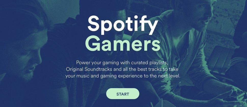 Spotify debuts gaming section with soundtracks and playlists
