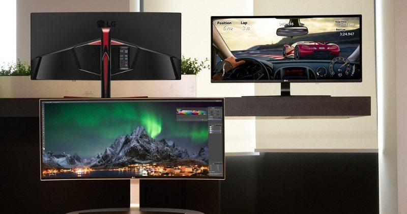 LG also announces an UltraWide curved gaming monitor