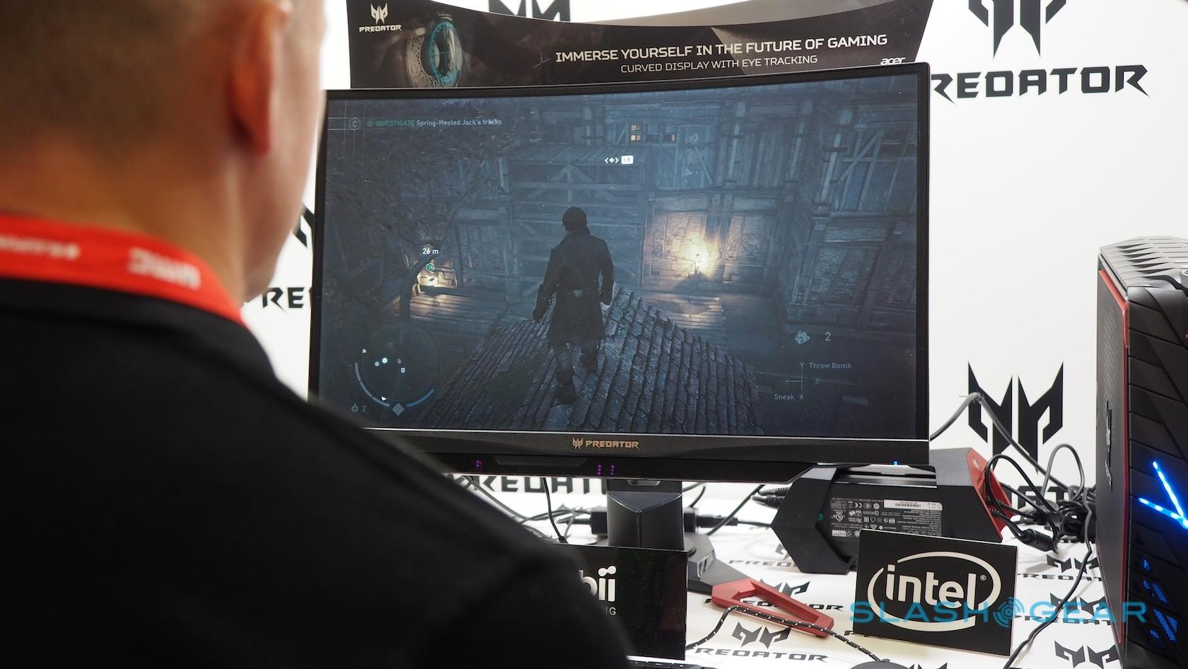 Acer's IFA 2016 gaming monitors keep an eye on your eyes