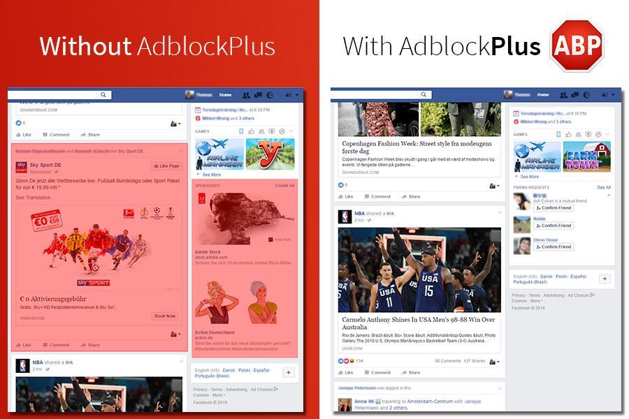 adblock plus facebook