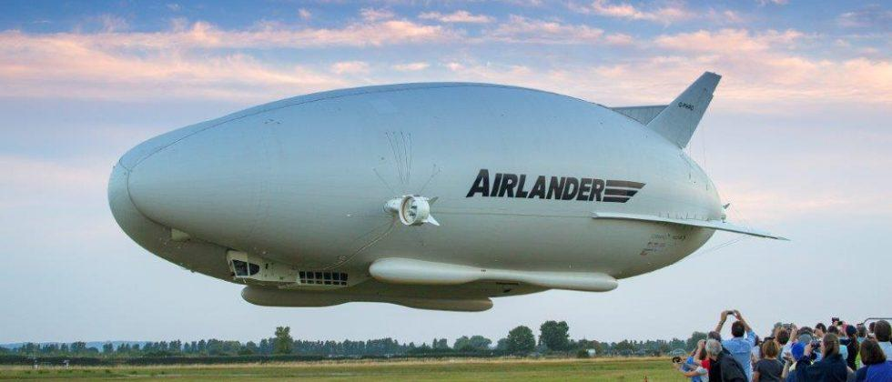 Airlander 10 helium-filled airship makes first flight