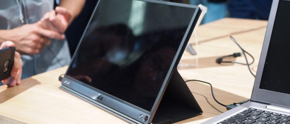 ASUS ZenScreen is a portable USB-C display for your laptop