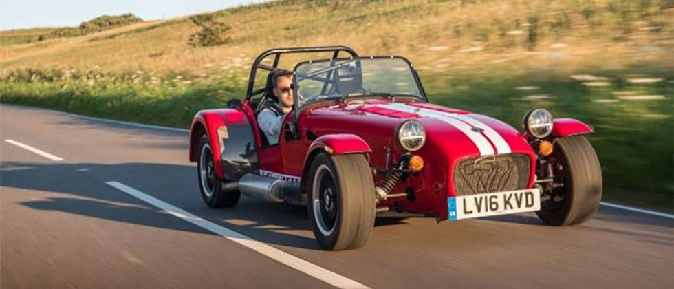 Caterham Seven 310 packs 152bhp of lightweight performance.