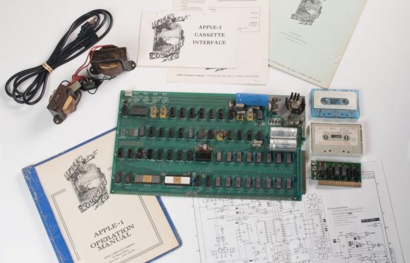 Rare Apple-1 'Celebration' model sells for $815K at auction