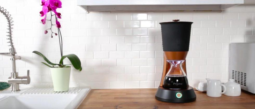 Prisma Cold Brew makes cold brew coffee in 8 minutes