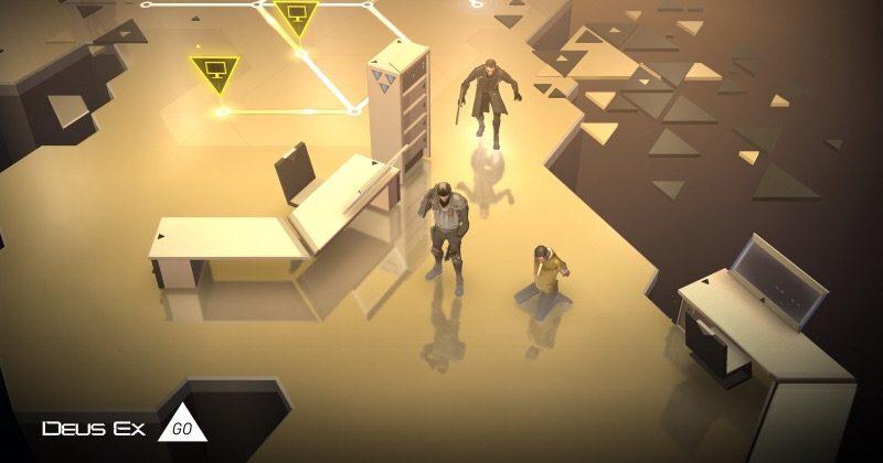 Deus Ex GO brings diorama-esque cyberpunk to mobile