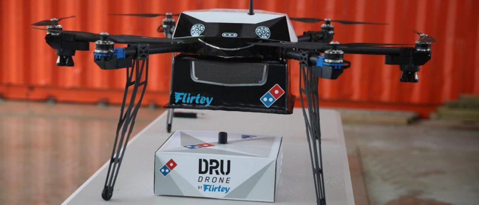 Domino's drone delivery testing will kick off in New Zealand
