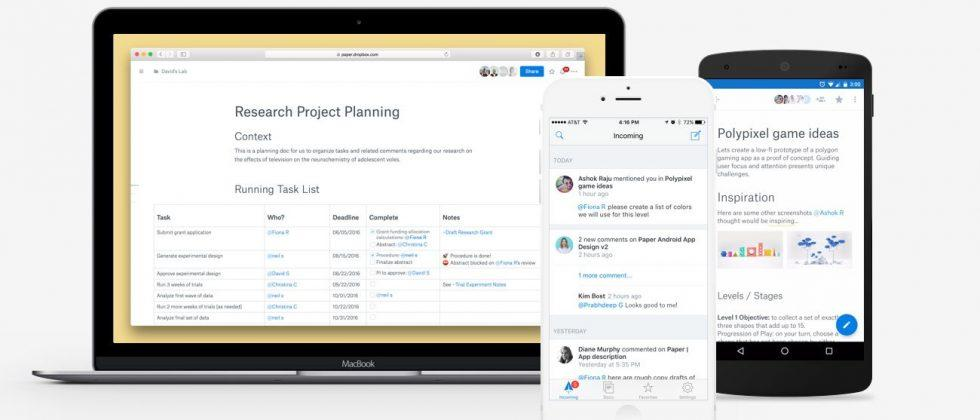 Now anybody can try Dropbox Paper