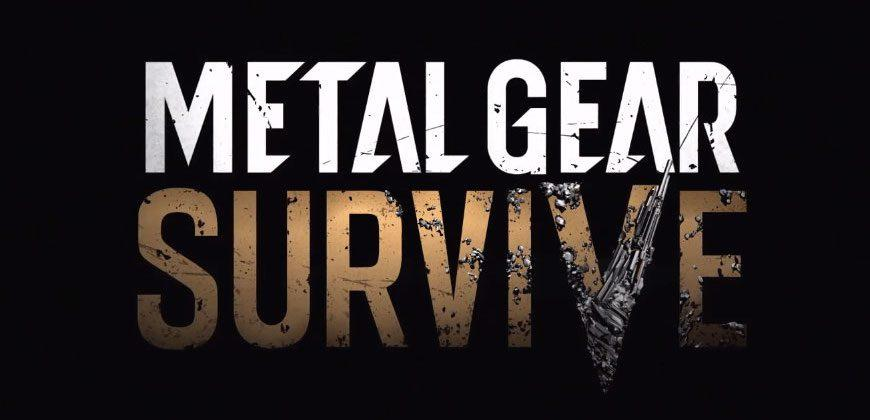 Metal Gear Survive debuts at Gamescom 2016, first Metal Gear post-Kojima