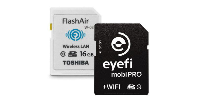 Eyefi, Toshiba FlashAir will soon play nice with each other - SlashGear