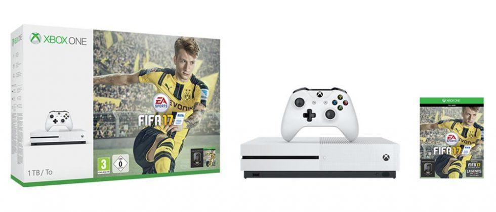 Xbox One S FIFA 17 bundles arrive on September 22