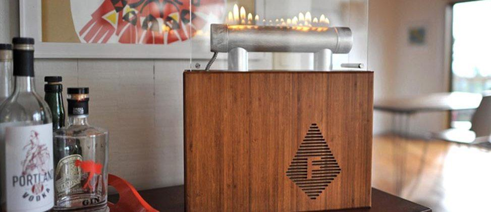 Fireside Audiobox pulses fire to the beat of your music