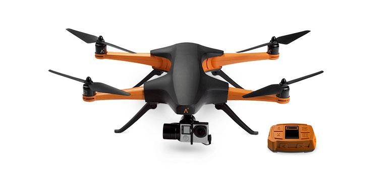 STAAKER is an auto-follow drone with an ironic name
