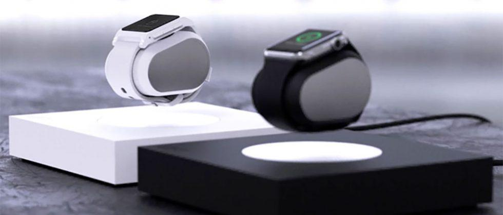 Lift charges your Apple Watch as it levitates