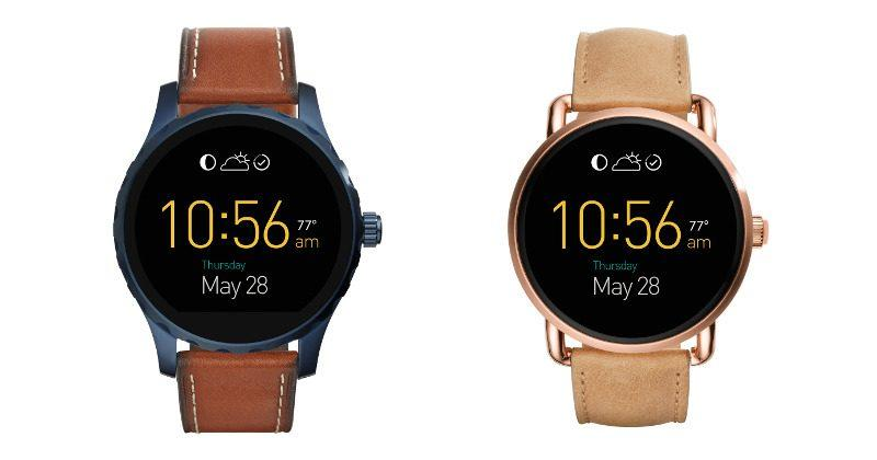 Fossil Q Marshal, Wander pre-order and launch dates set