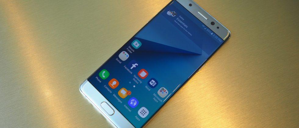 Screen experts name Note 7 the best phone display so far