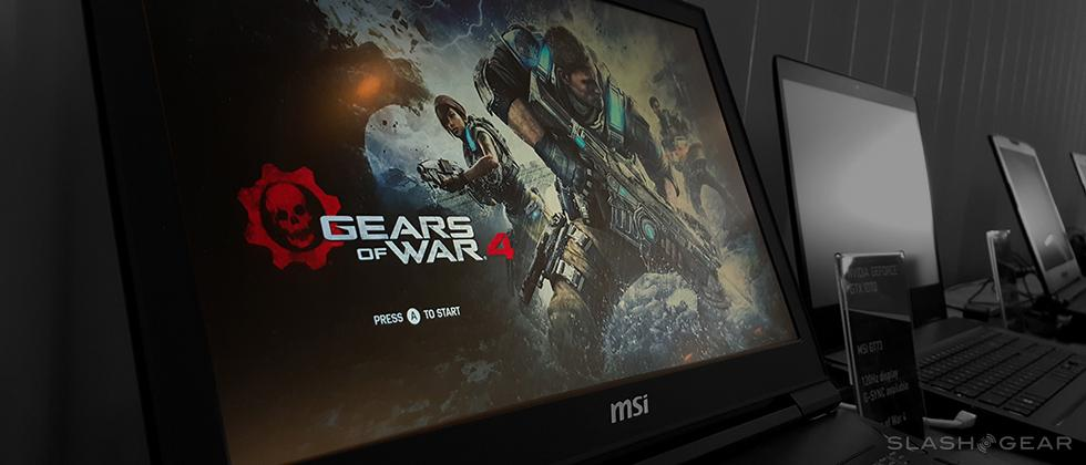 NVIDIA GTX 10 notebook first impressions with Gears of War 4