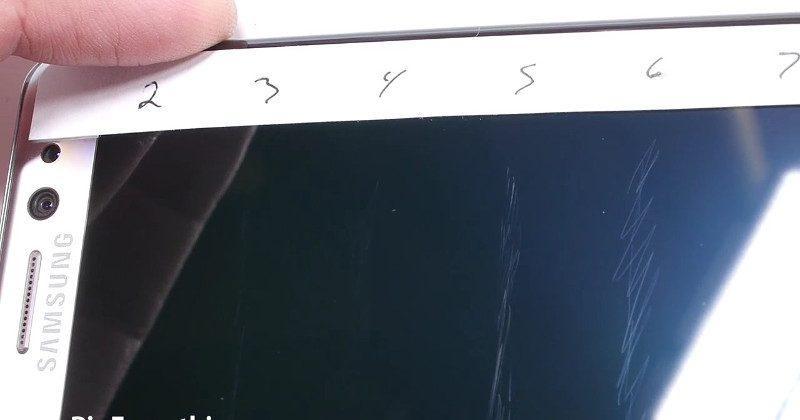 Corning tries to refute Galaxy Note 7 scratch test fail
