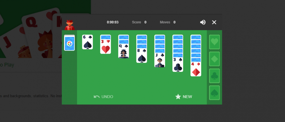 Google adds Solitaire and Tic-Tac-Toe games to Search results