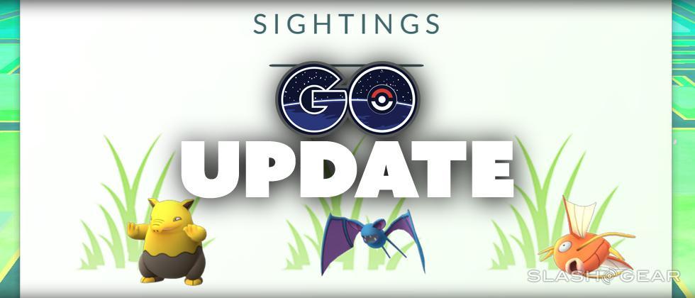 New Pokemon Go update : Sightings brings back footprints… sort of