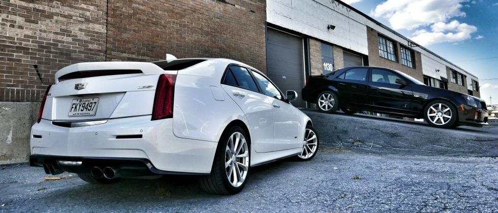 2016 Cadillac ATS-V vs. 2004 Cadillac CTS-V Showdown: Generation Gap