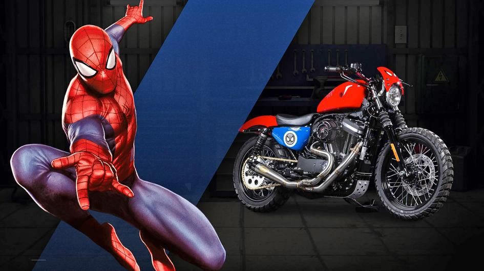 Check out these Marvel & Harley-Davidson official collaboration motorcycles