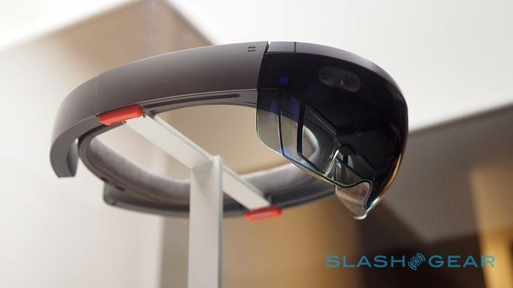Microsoft HoloLens powered by TSMC holographic processing unit