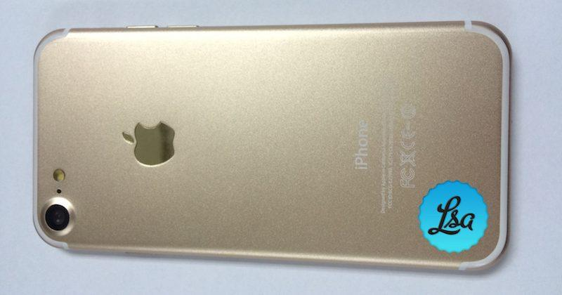 iPhone 7 Plus Gold with dual-lens camera laid bare in new photo