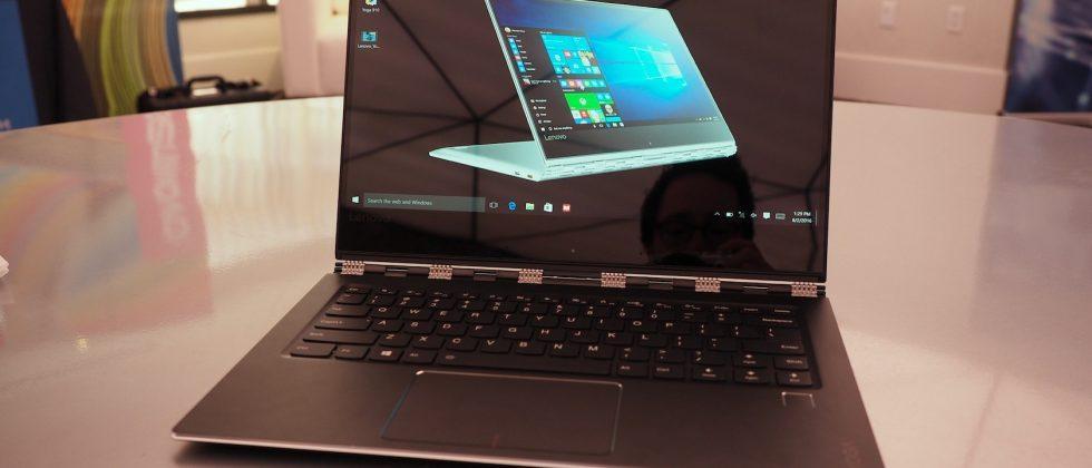 Lenovo Yoga 910 hands-on: Same skinny 360 style; bigger, better display