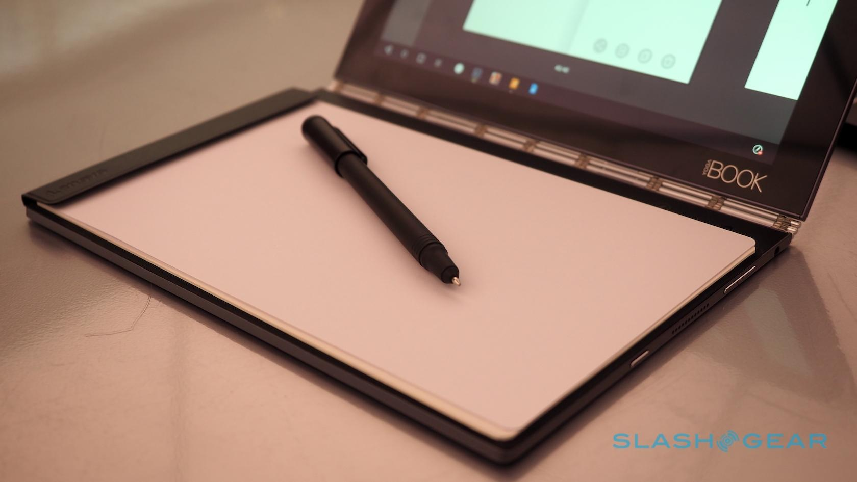 Lenovo Yoga Book hands-on: 2-in-1 ultraportable blends Wacom and