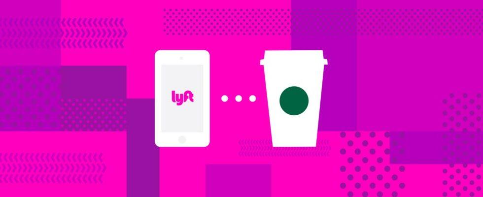 Lyft is rolling out physical gift cards with Starbucks perk