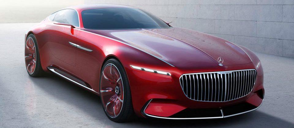 Vision Mercedes-Maybach 6 concept images tip lots of high-tech luxury