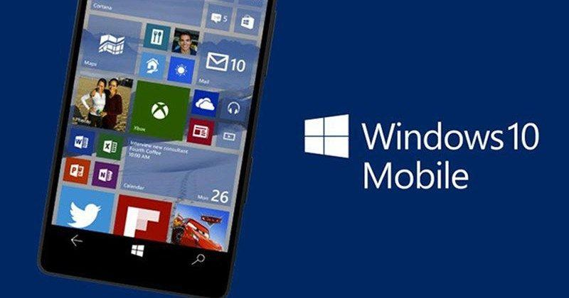 Windows 10 Mobile Anniversary Update is finally out