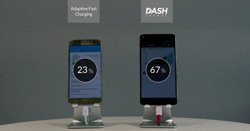 OnePlus 3 DASH Charge claimed faster than Samsung Galaxy S7