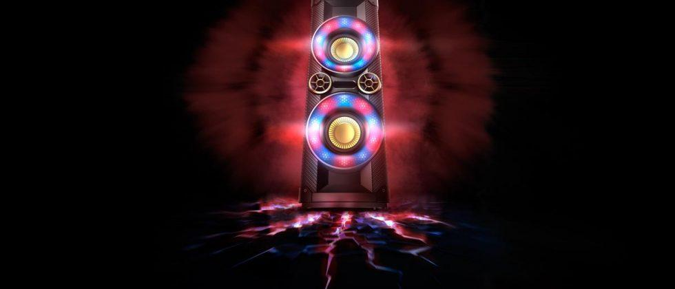 Philips Nitro audio line uses LED lights to show the music