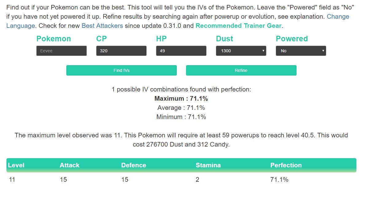 Pokemon GO IV calculator: three PokeAdvisor alternatives - SlashGear