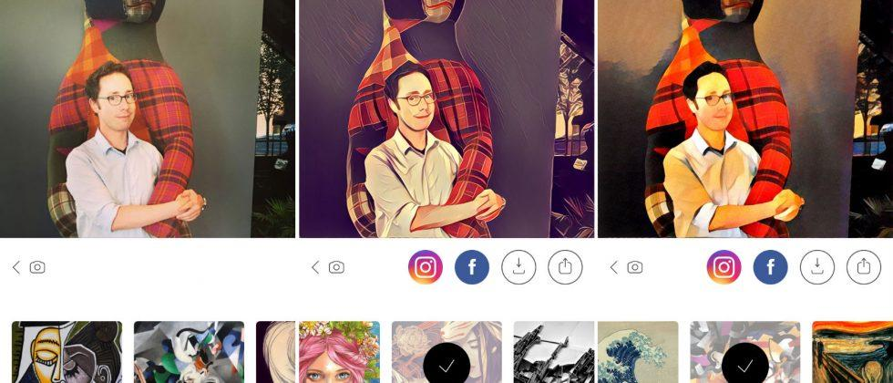 Prisma offline mode puts filters on your disconnected iPhone