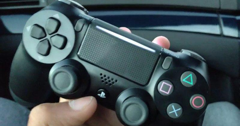 PS4 Slim leaked to have a new DualShock 4 controller