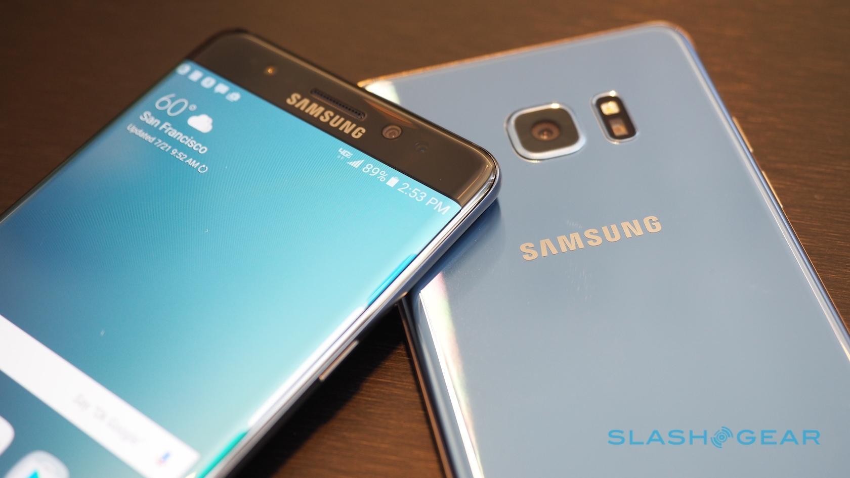 Samsung Galaxy Note 7 hands-on: S Pen meets S7 - SlashGear