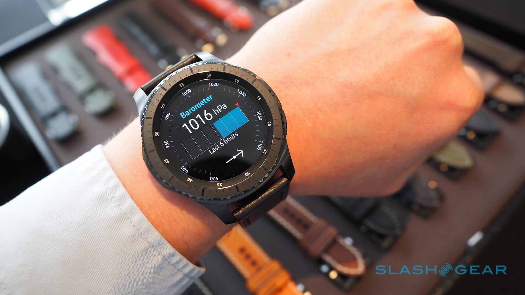 Samsung Gear S3 hands-on: Samsung Pay, LTE, rugged