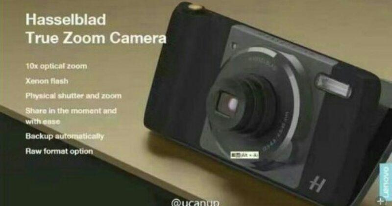 Moto Z camera mod leaked to be made by Hasselblad