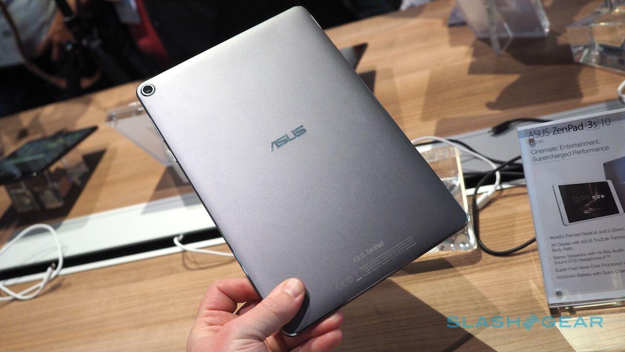 ASUS debuts ZenPad 3S 10 tablet