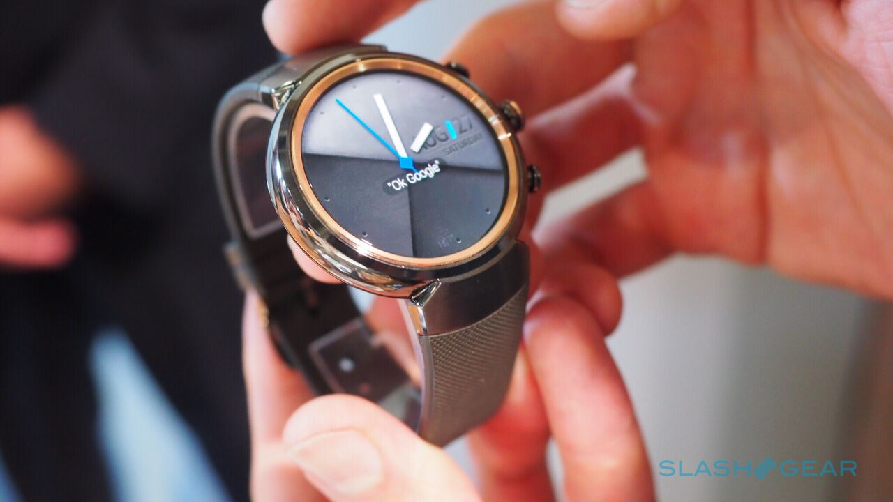 This is the new ASUS ZenWatch 3