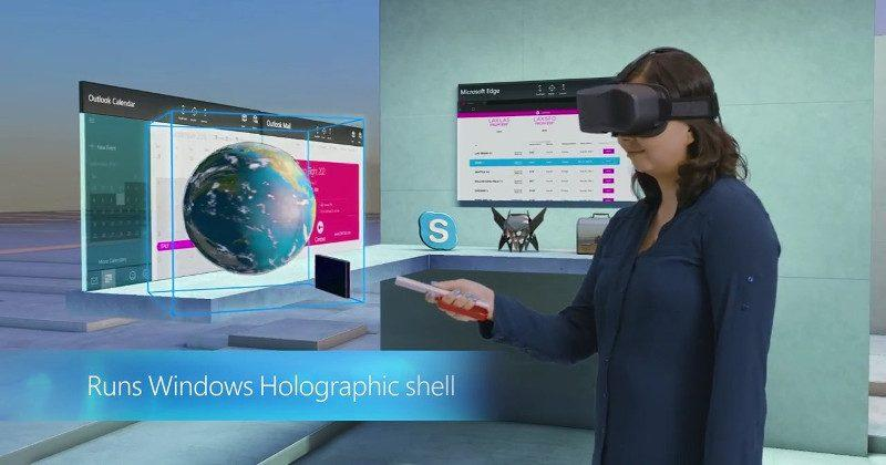 Windows Holographic is coming to Windows 10 PCs next year