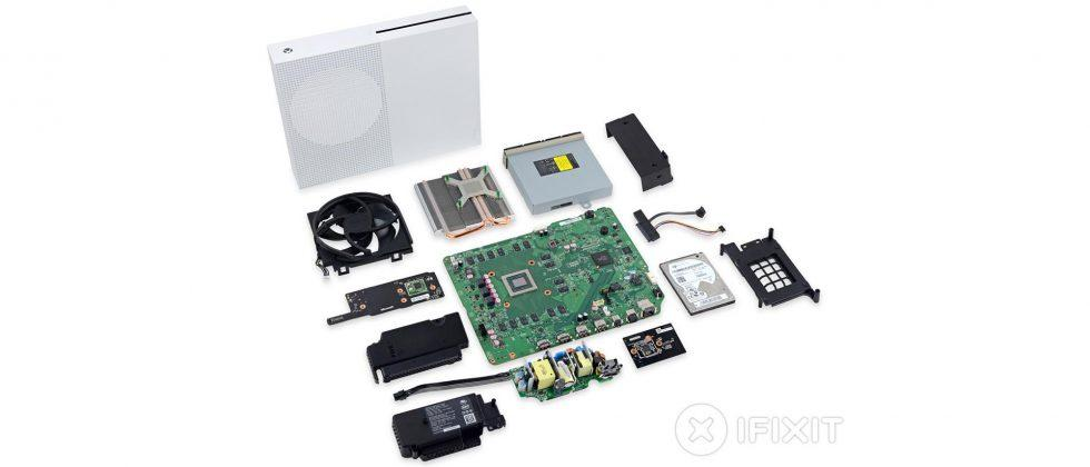 Xbox One S teardown finds console is easy to repair